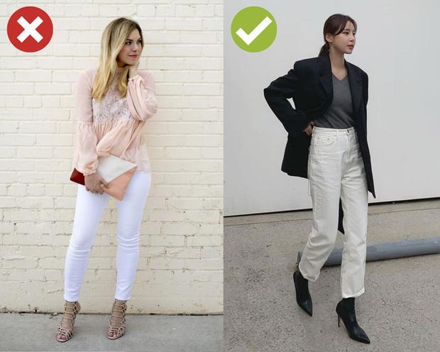 4 kiểu quần jeans có cho cũng không lấy vì diện lên lôi thôi, lỗi mốt và dễ còn tố sạch nhược điểm đôi chân - Ảnh 2