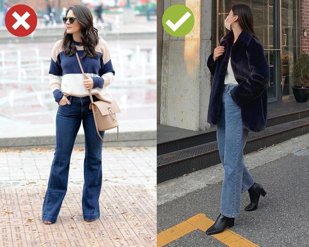 4 kiểu quần jeans có cho cũng không lấy vì diện lên lôi thôi, lỗi mốt và dễ còn tố sạch nhược điểm đôi chân - Ảnh 3