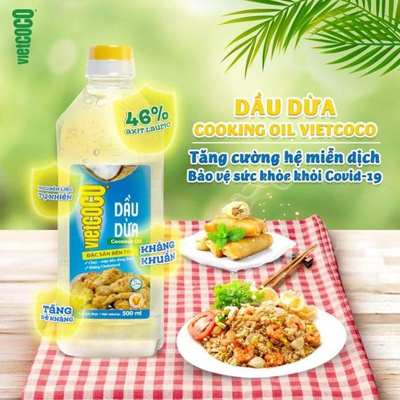 Tăng cường đề kháng gia đình bạn với dầu ăn từ dừa - Ảnh 2