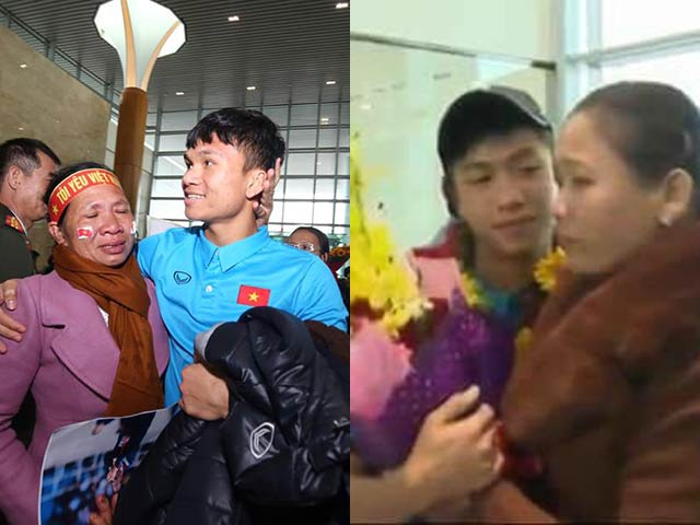 Tình yêu của cầu thủ U23 Việt Nam dành cho cha mẹ khiến cộng đồng mạng xúc động - Ảnh 1
