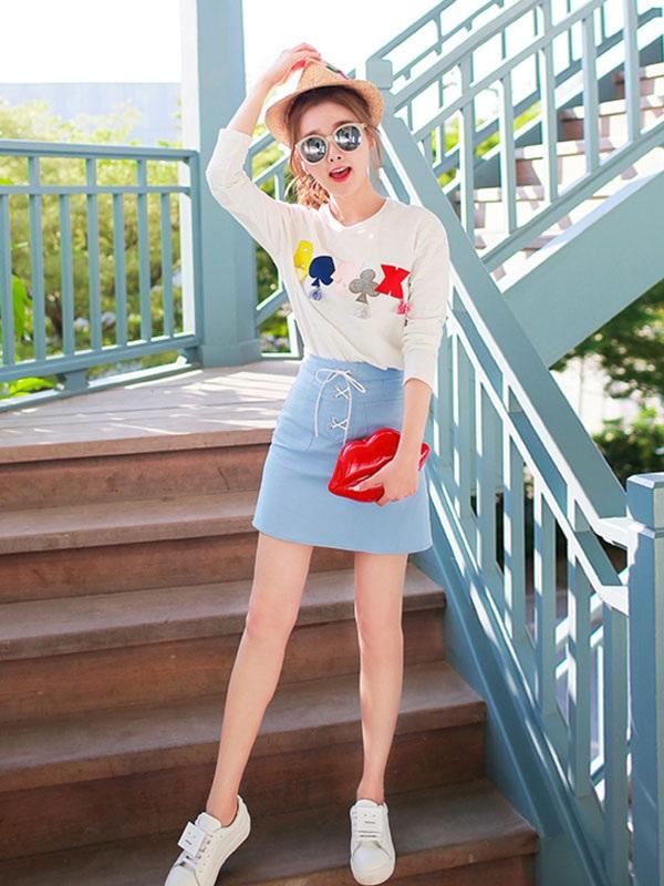 Gợi ý cách mix đồ với chân váy cực xinh cho các nàng diện ngay Tết này - Ảnh 2