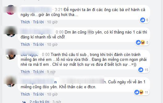 Hot girl Thanh Bi quấy rầy Tiến Dũng, Công Phượng ăn khuya sau hành trình gian khổ - Ảnh 4