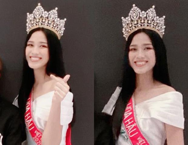 Góc bối rối: Dụi mắt vài lần mới nhận ra tân Hoa hậu Việt Nam Đỗ Thị Hà bên Duy Khánh, gương mặt hốc hác đáng lo - Ảnh 2