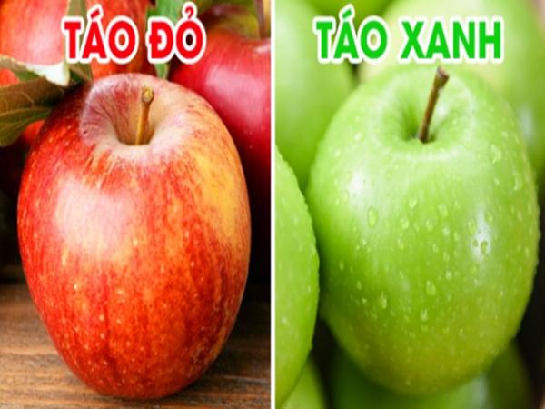 Táo đỏ hay táo xanh tốt hơn cho sức khỏe? - Ảnh 1