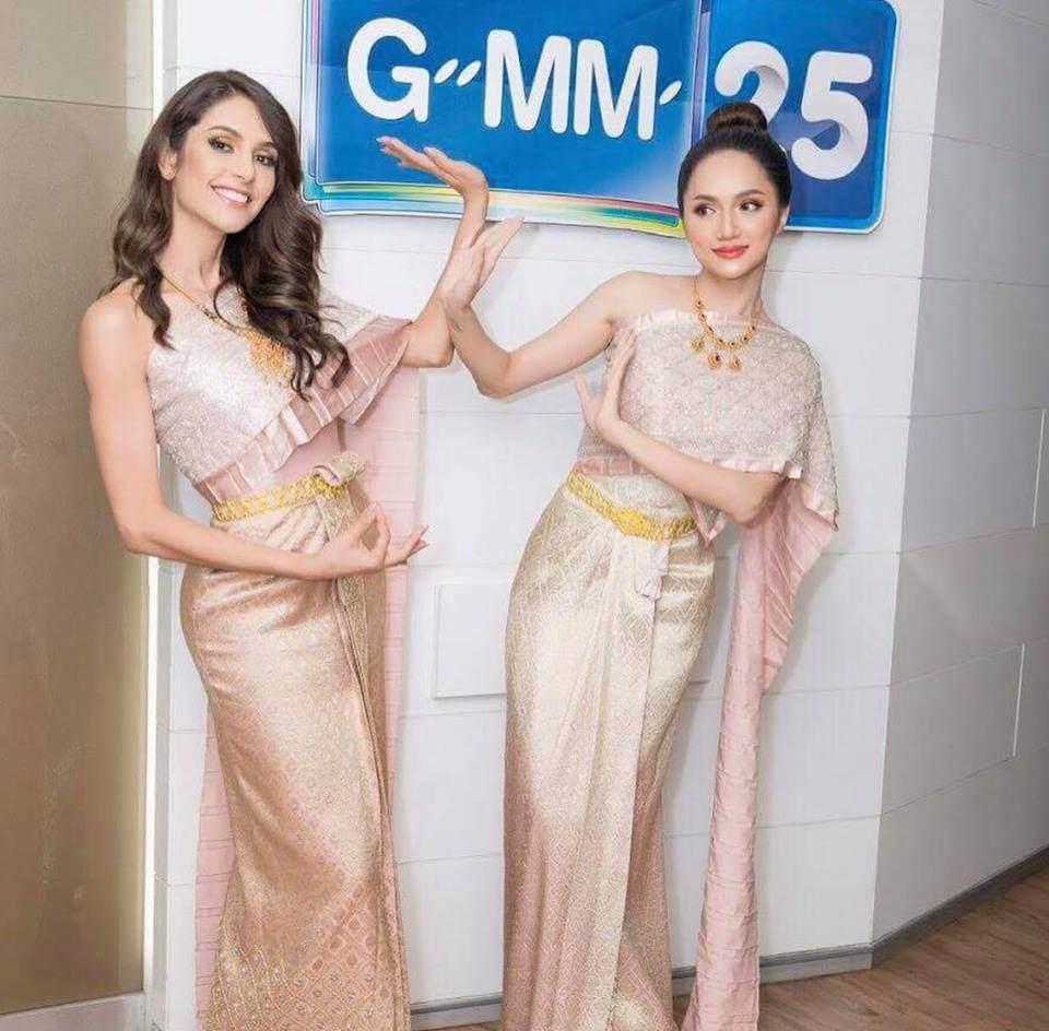 Hương Giang Idol khiến siêu mẫu hàng đầu Thái Lan phải khen ngợi! - Ảnh 5