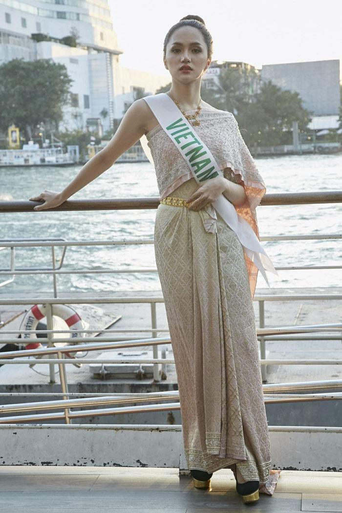 Hương Giang Idol khiến siêu mẫu hàng đầu Thái Lan phải khen ngợi! - Ảnh 6
