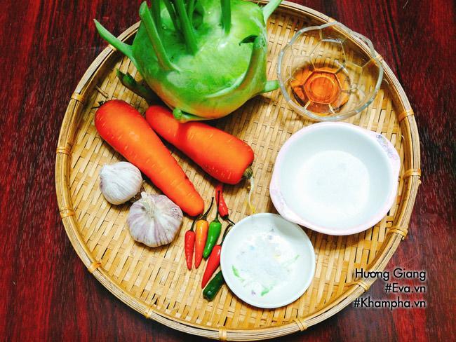 Mùa su hào về làm dưa muối chua chua, giòn tan ăn với cơm thật thích - Ảnh 1