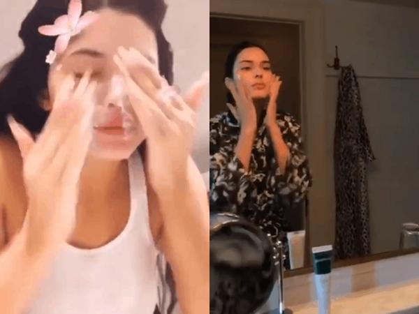 Bác sĩ da liễu khuyến cáo: Rửa mặt mà như cách của 2 cô em nhà Kim thế này làn da chỉ có đường tuột dốc
