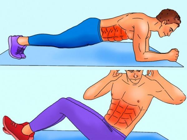 Bài tập 10 phút mỗi ngày cho cơ bụng 6 múi cuồn cuộn không cần đến phòng gym