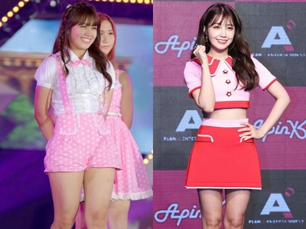 Bí quyết nào giúp Eunji (Apink) giảm được 15kg ngoạn mục, lấy lại body thon gọn chuẩn chỉnh?