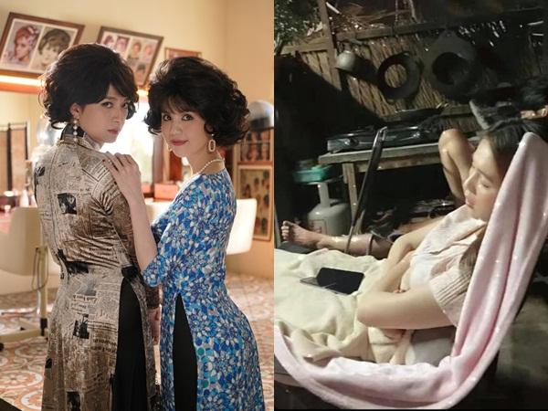 Bị trợ lý chụp lén khi ngủ, 'nữ hoàng nội y' Ngọc Trinh lộ nhan sắc thật khiến dân mạng ngỡ ngàng