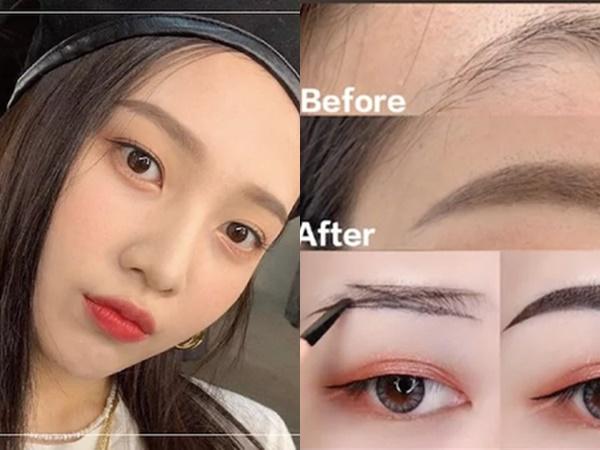 Biến hàng lông mày mọc lởm chởm thành chuẩn khuôn sắc nét chỉ bằng vài ba bước dễ ợt