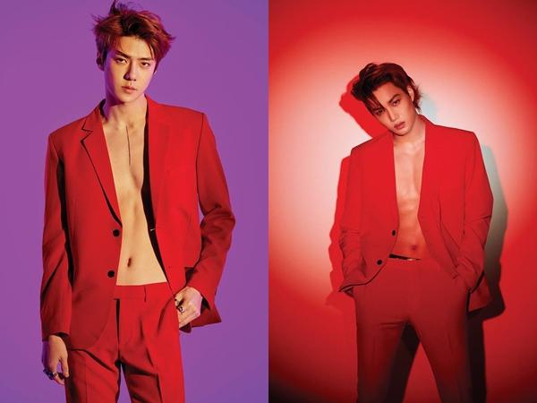 Bỏng mắt trước loạt ảnh khoe body cực sexy của hội em út nhà EXO trong teaser trở lại