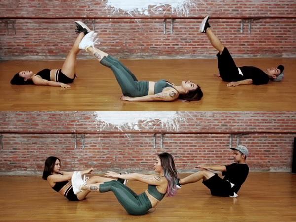 Cách giảm mỡ bụng dưới siêu dễ cho chị em theo bài tập thần thánh của huấn luyện viên