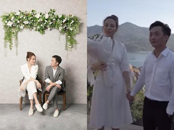 Cận kề ngày cưới, Đàm Thu Trang xúc động bật khóc khi được Cường Đô la cầu hôn cực lãng mạn