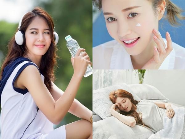 Chẳng cần son phấn, mặt mộc vẫn xinh như gái Hàn nhờ thường xuyên duy trì những thói quen này mỗi ngày