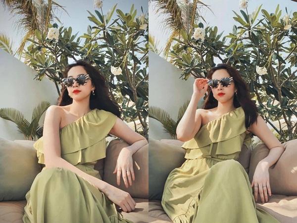 """Chỉ có thể là hoa hậu Đặng Thu Thảo: Lâu lâu đăng ảnh """"sống ảo"""" liền gây sốt, tăng cân lại càng được khen mới hay"""