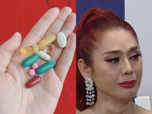 Chia sẻ hình ảnh uống cả nắm thuốc mỗi ngày, Lâm Khánh Chi tiết lộ tình trạng sức khỏe khiến nhiều người lo lắng