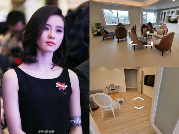 Choáng với nơi ở cữ siêu cao cấp của Lưu Thi Thi sau sinh, hiện đại như khách sạn 5 sao