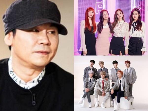 """Chủ tịch YG bị netizen """"ném đá"""" vì lợi dụng danh tiếng của BTS để quảng bá hình ảnh cho BLACKPINK"""