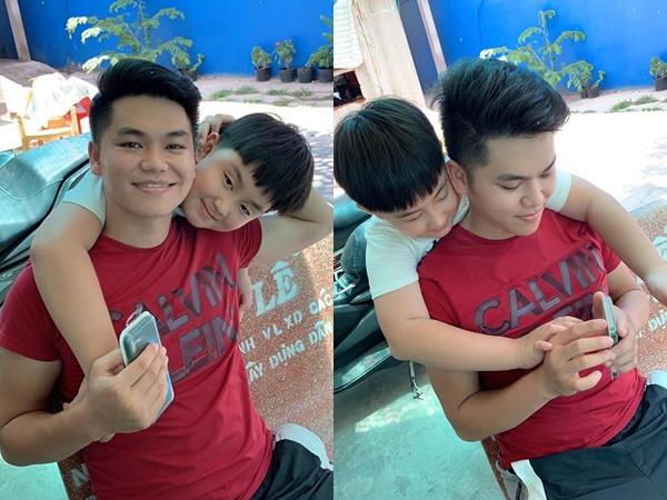 Con trai Lê Phương đập ống heo mua quà sinh nhật tặng ba Kiên, đọc dòng chữ cậu bé viết mà ai nấy đều cảm động