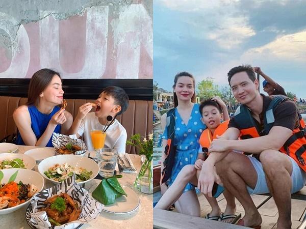 Cùng Kim Lý đưa Subeo đi chơi cuối tuần, Hà Hồ bật mí sở thích đặc biệt của người yêu và con trai