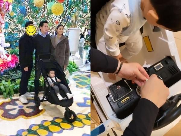 Đã lâu lắm rồi Phạm Hương mới nhắc đến bạn trai đại gia trên Instagram, tiết lộ khoảnh khắc cực yêu của 2 bố con