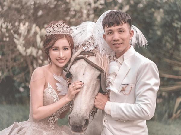 Đại gia Minh Nhựa tổ chức lễ kỉ niệm 8 năm ngày cầu hôn vợ hai Mina, dân tình ghen tị vô cùng với món quà xa xỉ cặp đôi dành tặng cho nhau