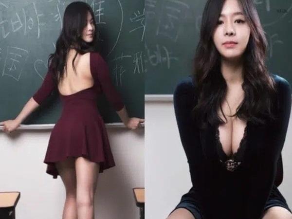 Đăng ảnh tuyển sinh nhưng lại cố tình khoe vòng 1 ngoại cỡ, cô giáo hot girl bị 'ném đá' không thương tiếc