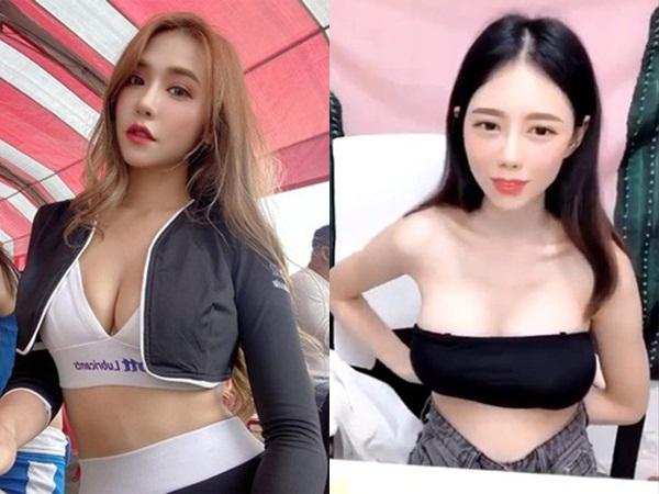 Đang livestream, hot girl xinh đẹp bất ngờ bị tuột áo lộ vòng 1 trước hàng nghìn khán giả