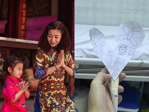Nhập viện điều trị, Mai Phương khiến khán giả nghẹn ngào khi khoe món quà đặc biệt con gái tặng mẹ