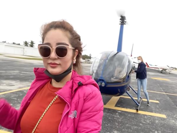 Danh hài Thúy Nga 'chơi lớn' định thuê máy bay riêng về Việt Nam, tiết lộ chi phí cho 15 phút bay thử