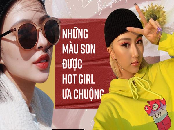 Đây là những màu son siêu hot đang được các hot girl ưa chuộng trong những bức ảnh Instagram nghìn like