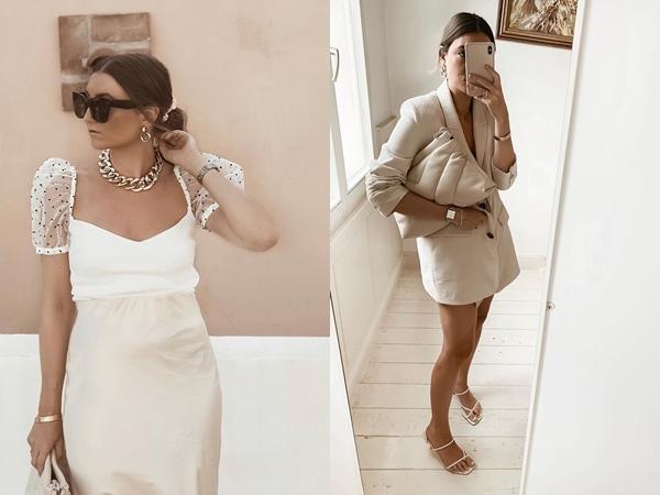 Diện toàn gam màu trắng, nàng fashion blogger đã có được style đẹp 360 độ, tìm đỏ mắt cũng không thấy một set đồ xấu