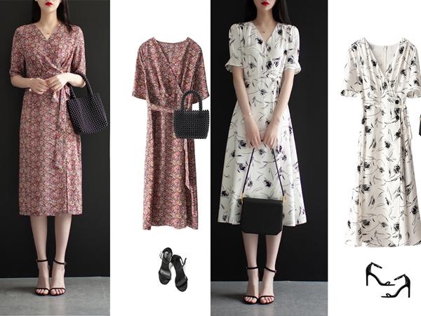 Diện váy liền họa tiết hoa rất dễ già đi, nhưng biết vài tips sau thì đảm bảo luôn trẻ xinh lung linh