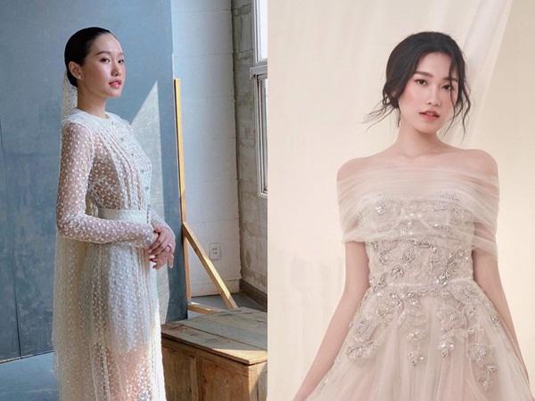 Đoàn Văn Hậu vừa ra mắt bố bạn gái, Doãn Hải My đã tung hậu trường ảnh diện váy cưới: Chuyện gì đây?
