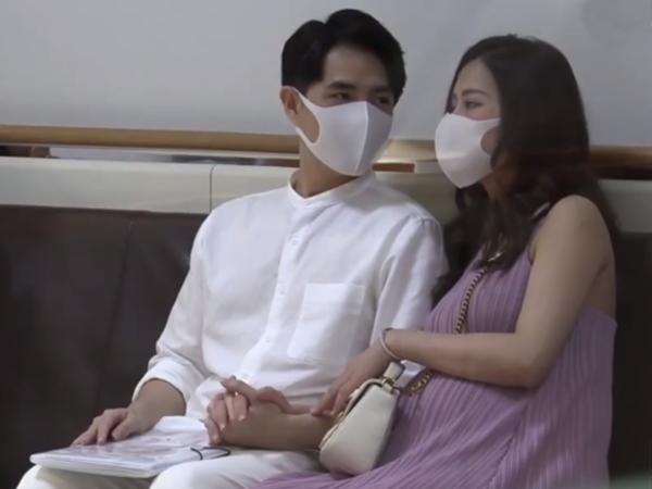 Lộ ảnh Đông Nhi được ông xã hộ tống đi khám thai, hành động đầy tình cảm của cặp đôi gây chú ý