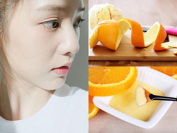 Đừng vứt vỏ cam sau khi ăn, hãy đem phơi khô rồi làm theo cách này để giảm dầu nhờn trên da