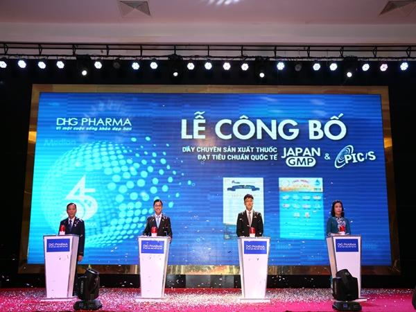 2 dây chuyền sản xuất thuốc chuẩn quốc tế vừa được công bố