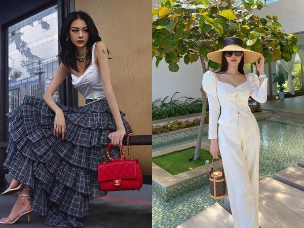 Gam màu tươi sáng được sao Việt lăng-xê mở đầu trào lưu thời trang 2020