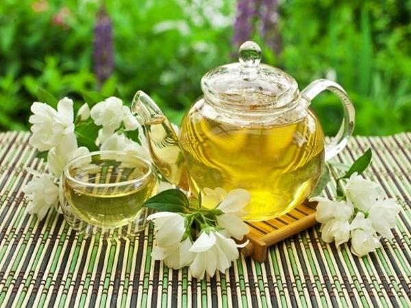 Giảm cân, giữ dáng với trà hoa nhài