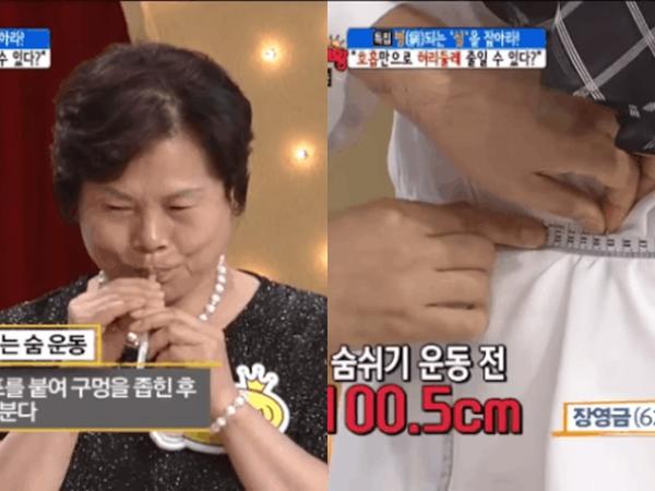 Giảm hẳn 11cm vòng eo chỉ trong 3 phút tập thở theo cách của chuyên gia Hàn Quốc