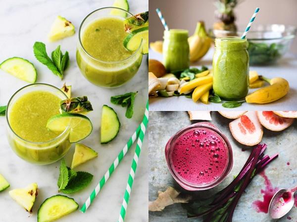 Gợi ý 5 công thức nước detox thay thế các bữa ăn từ những nguyên liệu ở ngay xung quanh bạn