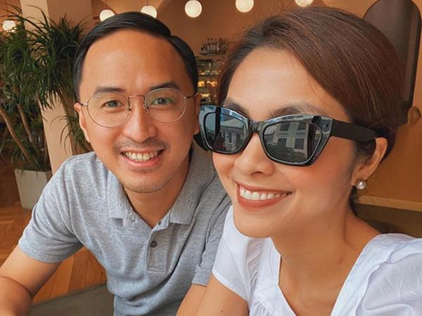 Hà Tăng khoe khoảnh khắc giản dị mà cực tình bên chồng, Louis Nguyễn đăng luôn ảnh gốc hé lộ nhan sắc thật của cả 2