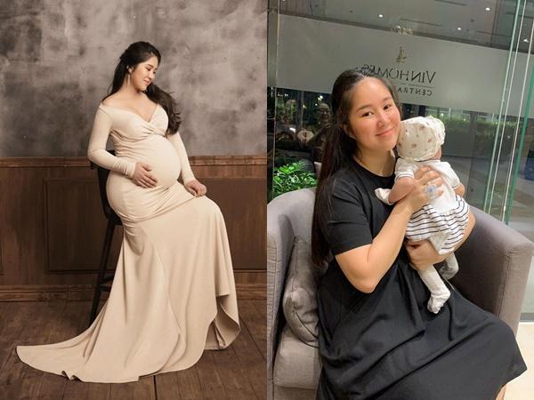 Bị chê bai nhan sắc sau sinh, Lê Phương khoe thành tích giảm cân đáng nể trong 4 tháng