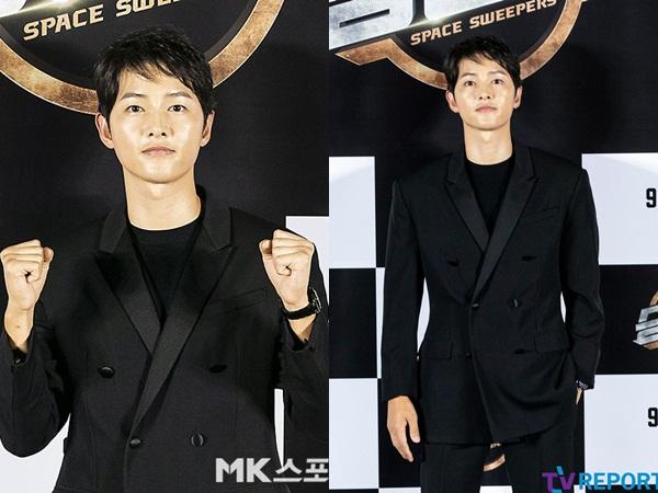 Hậu tin đồn hẹn hò, Song Joong Ki lần đầu lộ diện tại sự kiện, nhan sắc xuống dốc bên 'bản sao Song Hye Kyo'