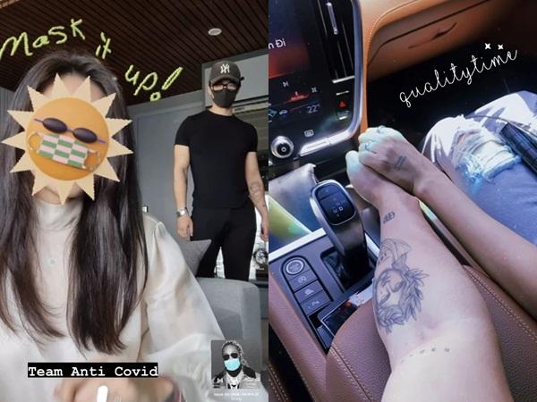 Hẹn hò cuối tuần, Huy Trần khoe ảnh đan tay tình tứ với Ngô Thanh Vân rồi để lộ luôn nhẫn cưới đính ước?