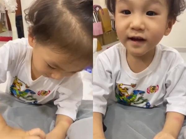 Hết mực yêu thương con trai nhưng Lâm Khánh Chi phải gửi quý tử cho bà ngoại chăm sóc vì lý do này