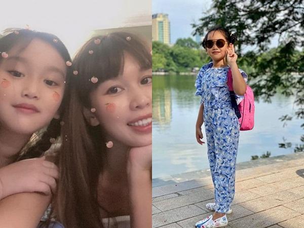 Hiếm hoi khoe ảnh chụp chung, em gái cùng cha khác mẹ của siêu mẫu Hà Anh khiến dân tình phát cuồng vì quá xinh xắn