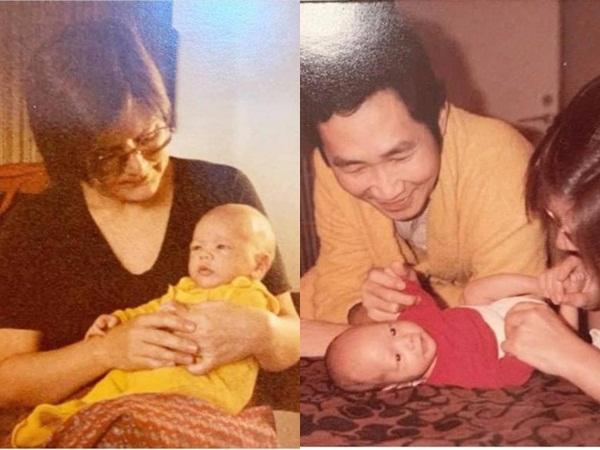 Hồ Ngọc Hà lần đầu khoe loạt ảnh thuở nhỏ của ông xã Kim Lý, gây chú ý nhất là chi tiết này